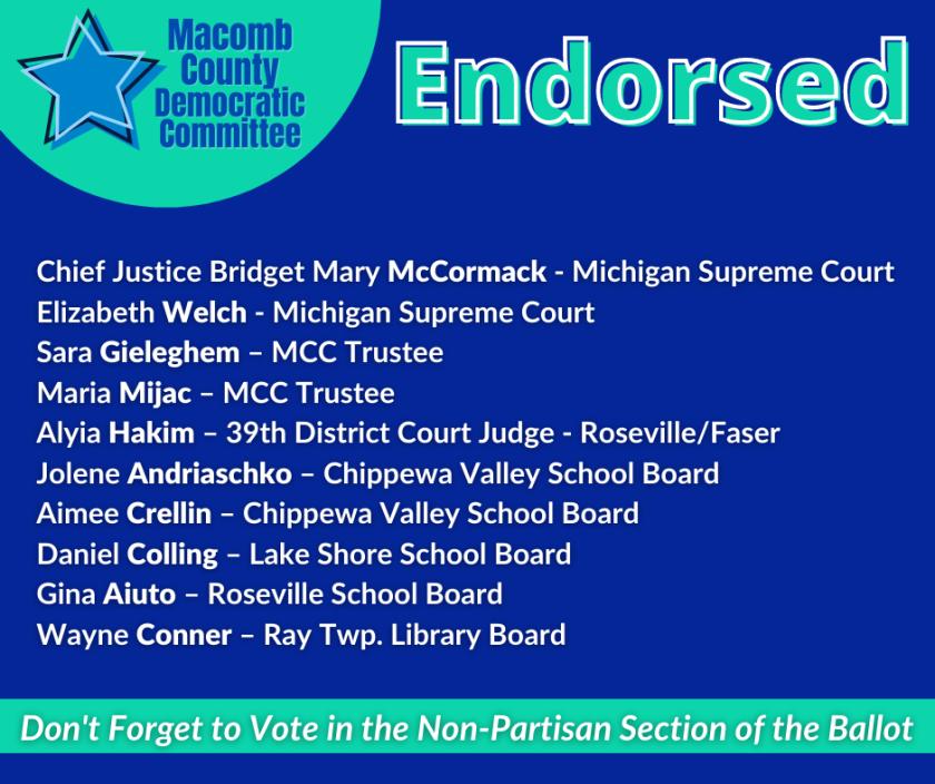 MCDC_ Endorsements
